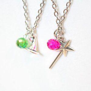 Jewelry - 2 Piece set Witch Star Wand Best Friend Necklace